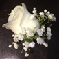 thumbnail Boutonniere mariage gypsophile rose creation Jerome Bourne