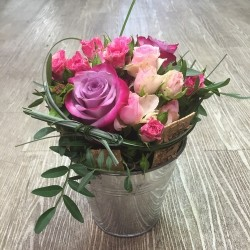 Rose coeur soliflore