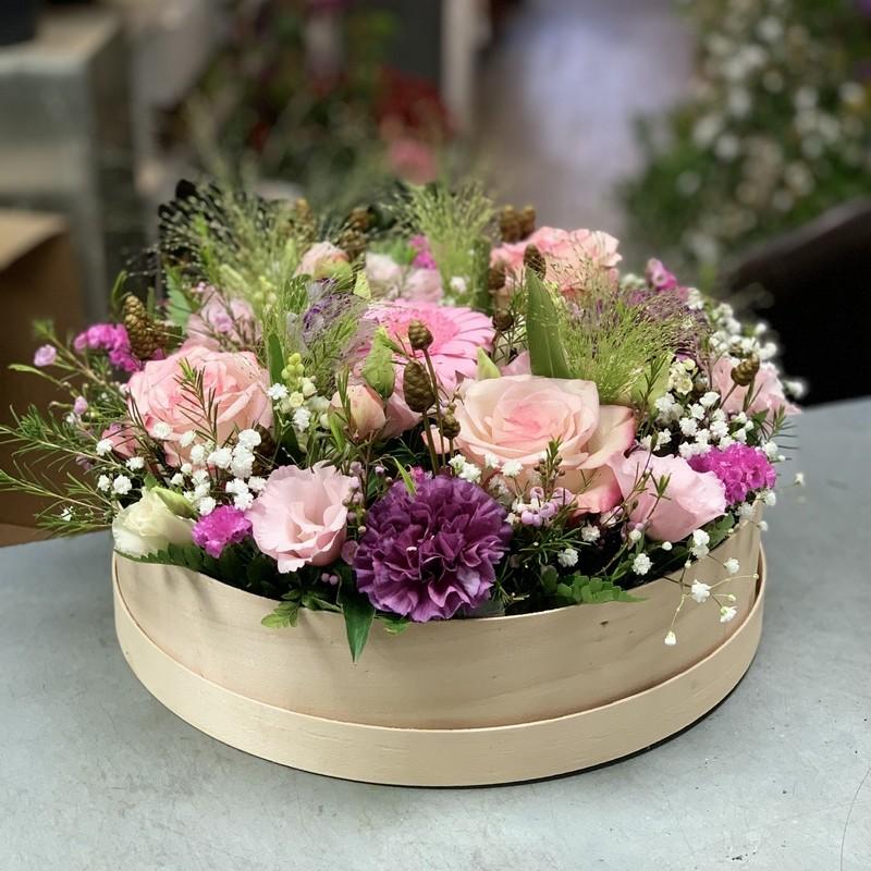 bouquet gerbe de fleurs blanches